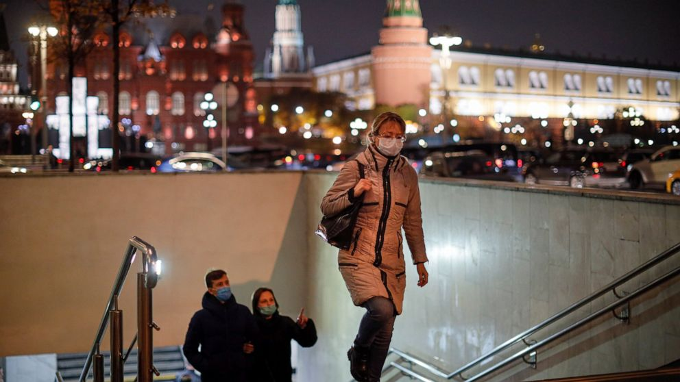 The Latest: Poland's daily high nearly 25,000 virus cases