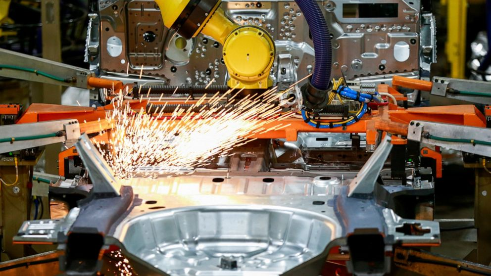 US manufacturing activity at highest levels in two years