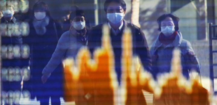 Asian stocks sink after Wall St hits record on stimulus hope