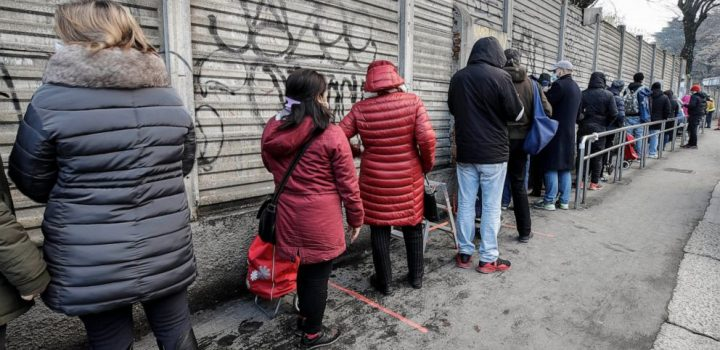 Pandemic exposes the vulnerability of Italy's 'new poor'