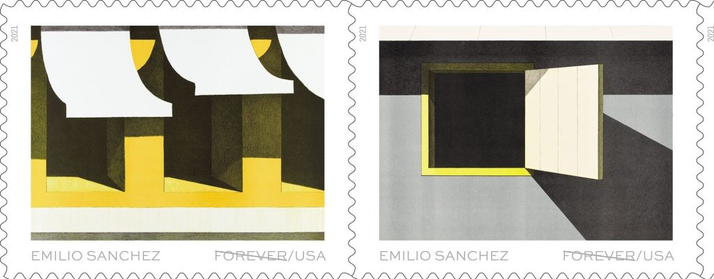 Emilio Sánchez Is First Cuban American Artist on U.S. Stamps – ARTnews.com