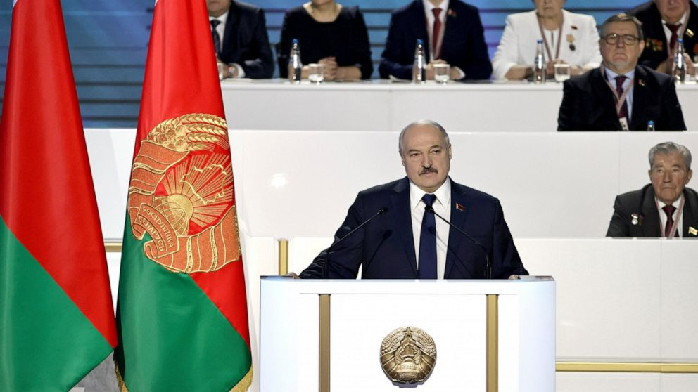Belarusian leader vows to defeat foreign-backed 'rebellion'