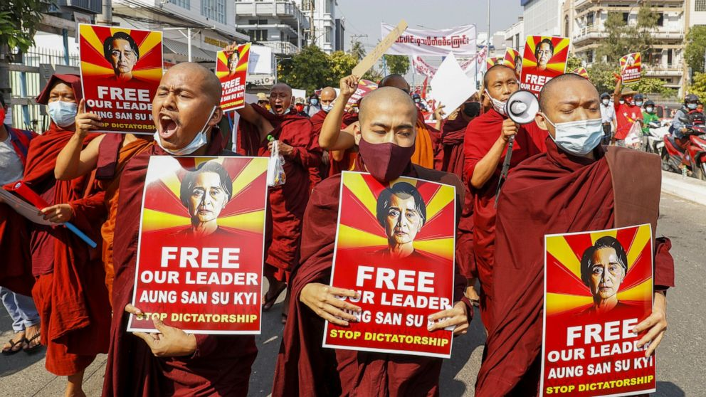 Myanmar draft cybersecurity law adds to protests over coup