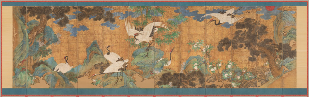 'Sea, Cranes, and Peaches' at the National Palace Museum in Seoul – ARTnews.com
