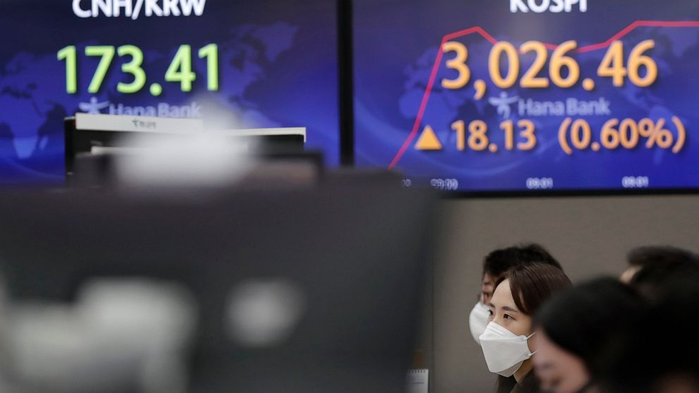Asian stocks advance on optimism over pandemic recovery