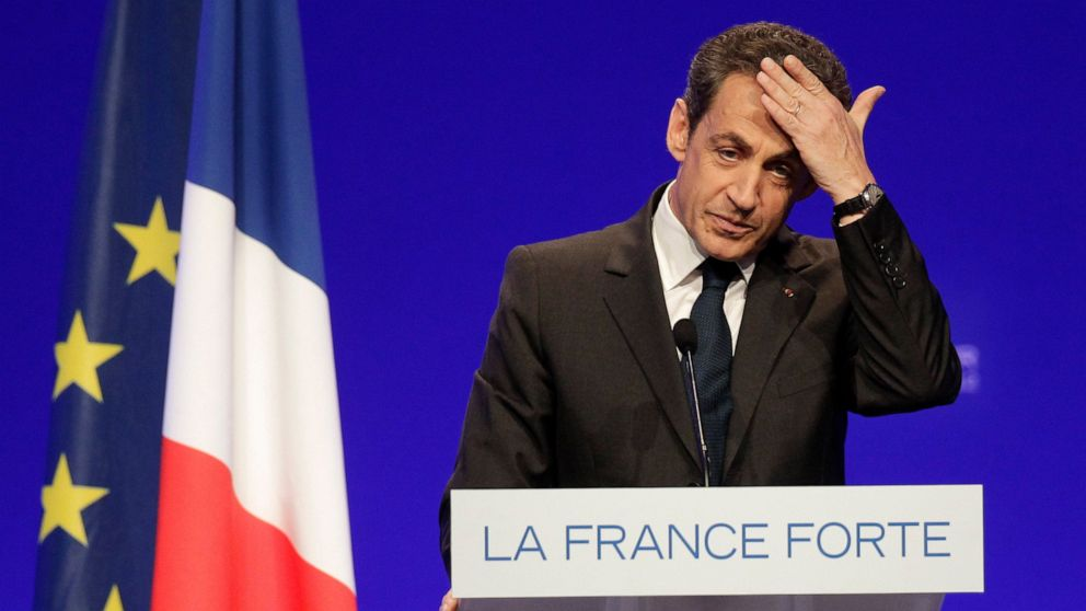 France's Sarkozy faces new trial over 2012 campaign finance