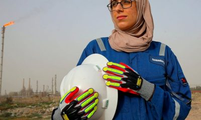 In oil-rich Iraq, a few women buck norms, take rig site jobs