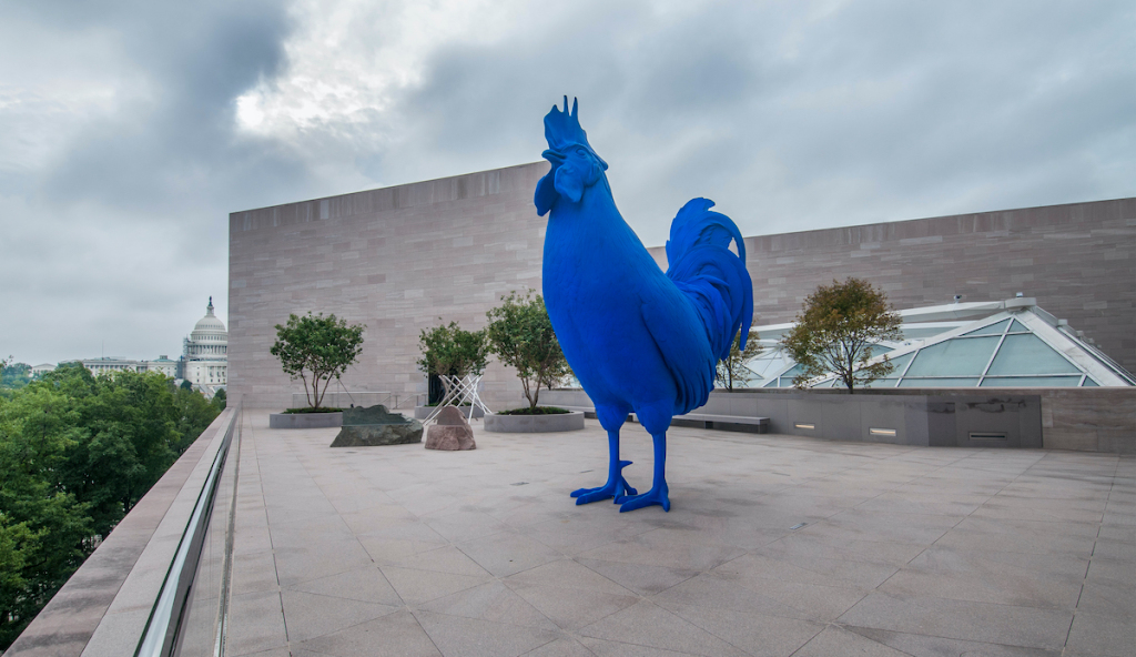National Gallery of Art in Washington Acquires Blue Rooster Sculpture – ARTnews.com