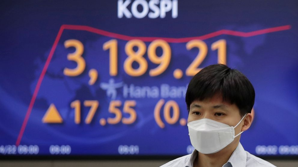 Asian shares rebound after advance on Wall Street