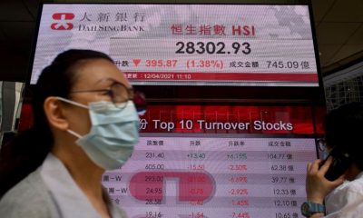 World shares, US futures decline on vaccine, virus worries