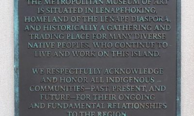Metropolitan Museum of Art Installs Land Acknowledgement Plaque – ARTnews.com