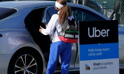 Uber demand jumps as delivery grows, ride-hailing recovers