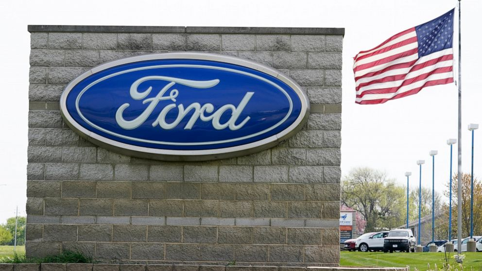 Ford says outlook for 2nd quarter is improving