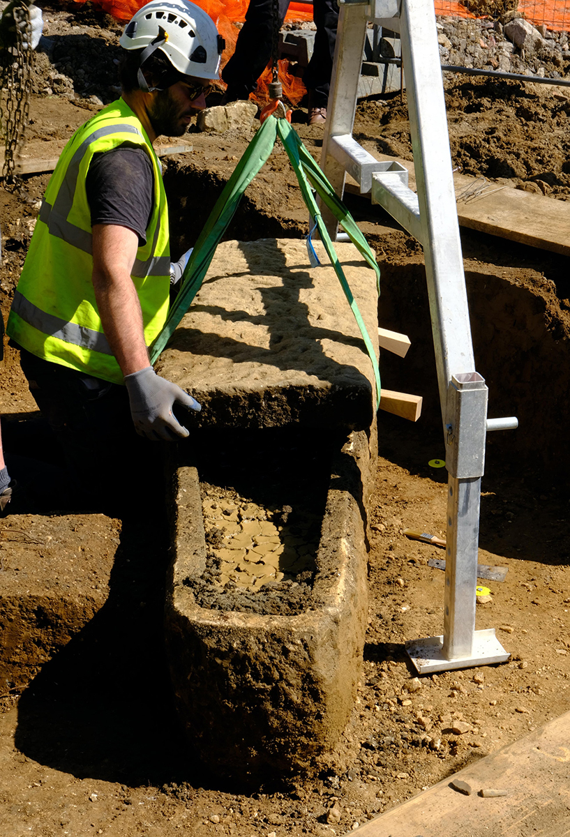 Ancient Roman Sarcophagus and Two Skeletons Unearthed in Bath, England – ARTnews.com
