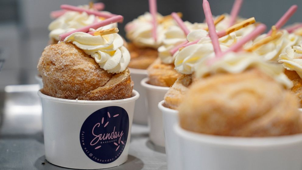 New Asian American bakeries find bicultural sweet spot