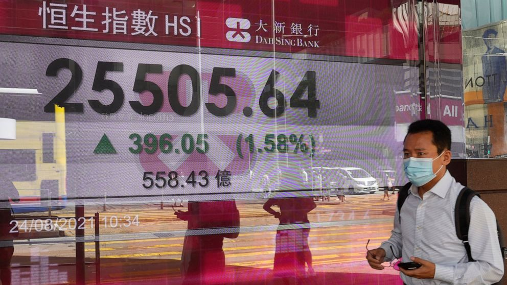 Stocks move higher on Wall Street, hovering near records