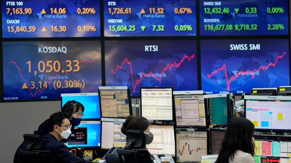 Asian stock markets mixed after Wall St hits another record