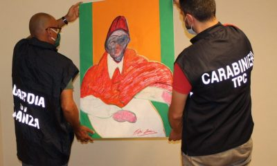 Nearly 500 Counterfeit Francis Bacon Works Confiscated in Italy – ARTnews.com