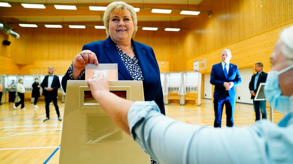 Norway's center-left gains after vote; climate is key issue