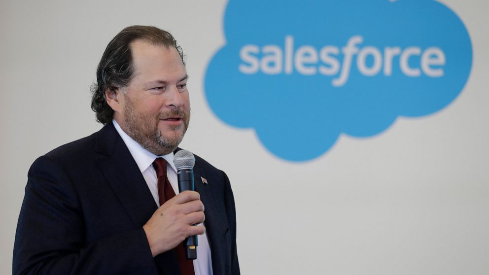 Salesforce to help workers leave states over abortion laws